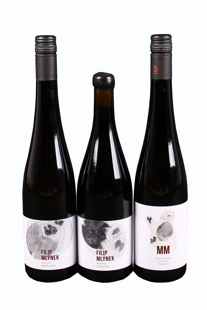 Nový ročník bílých vín Filipa Mlýnka v prodeji